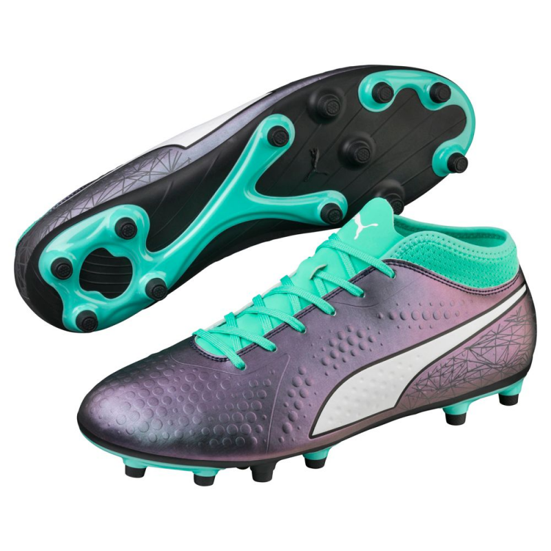 PUMA ONE 4 IL SYNTHETIC FG SOCCER CLEATS