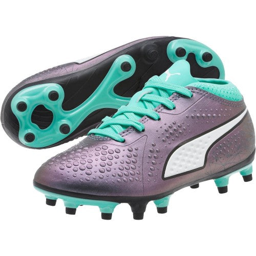 PUMA ONE 4 IL SYNTHETIC FG YOUTH SOCCER CLEATS
