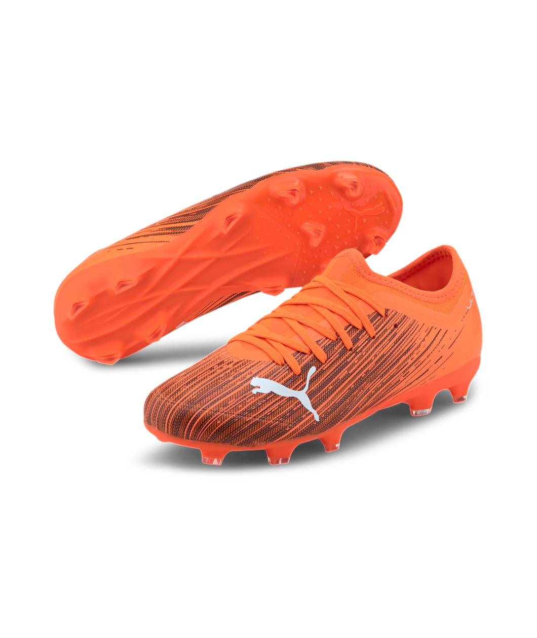Puma Kids ULTRA 3.1 FG/AG JR Cleats Orange 10609801