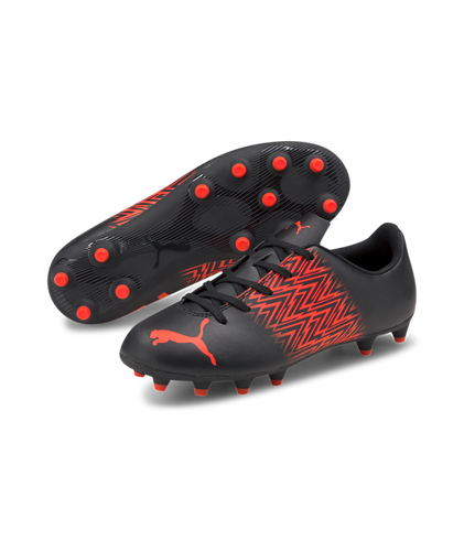 PUMA Tacto FG/AG Jr 10631002 - BLK/RED