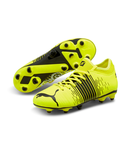 PUMA Future Z 4.1 FG/AG Jr Cleats 10640001 - YELLOW