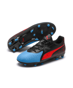 PUMA ONE 19.4 FG/AG YOUTH SOCCER CLEATS