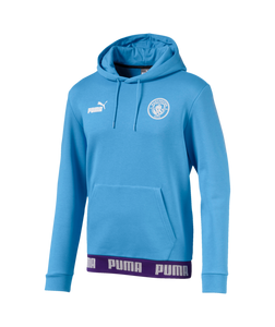 Puma Manchester City Football Culture Hoodie 2020-21 Blue 75613427