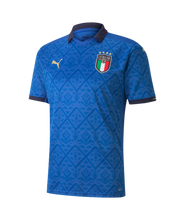 Load image into Gallery viewer, Puma Men's Italy Home Jersey 2020 Blue 75646801