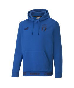 Puma Italy Football Culture Hoodie 2020-21 Blue 75724701