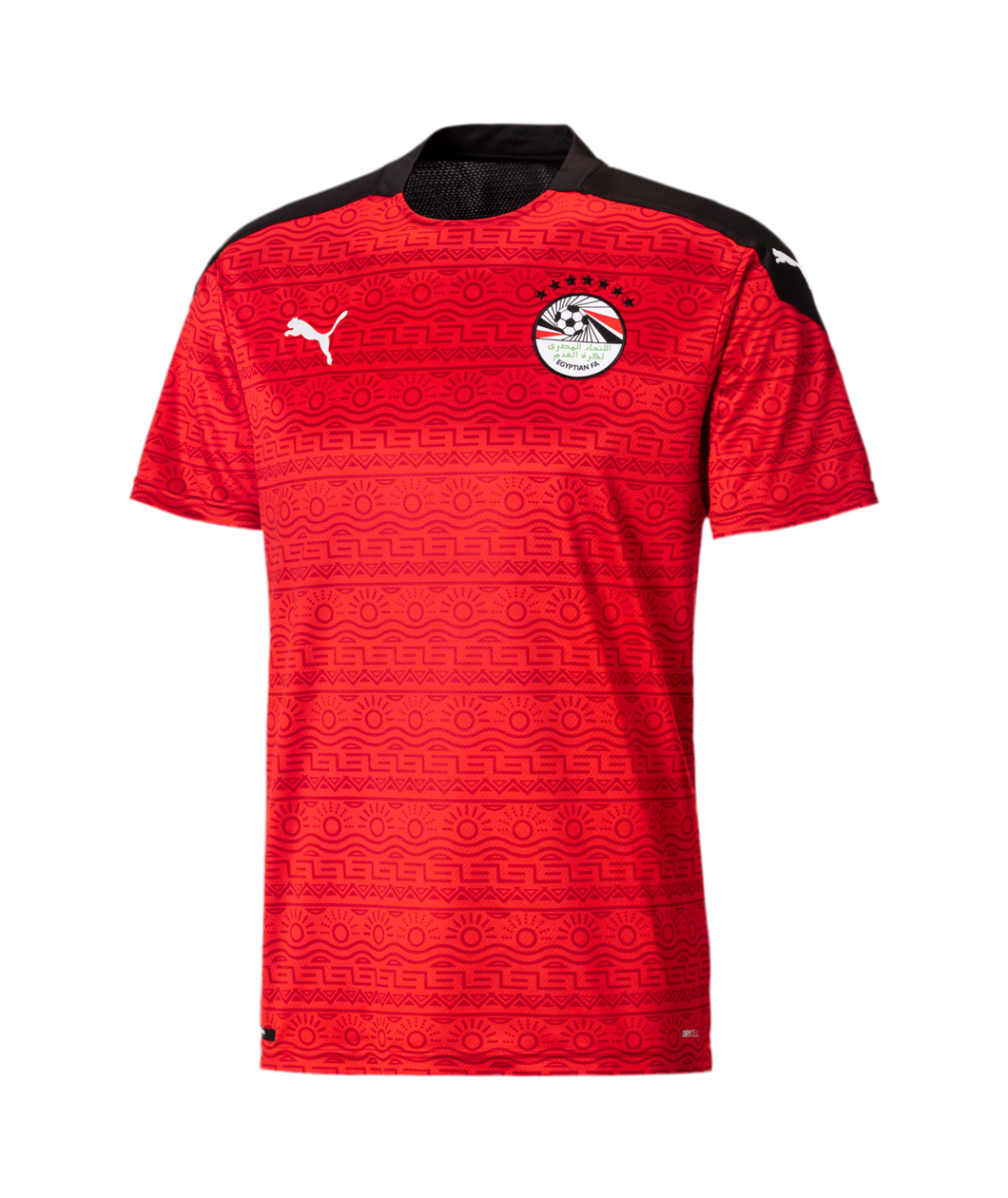 Puma Men's Egypt Home Jersey 2020-21 RED/WHITE -PUMA BLACK 75754101