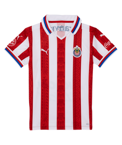 Puma Chivas Kids Home Shirt 2020/21 Red/White 763056 01