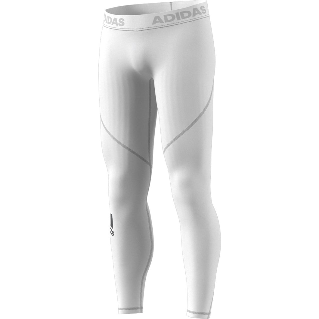 adidas Men's Alphaskin Sport Long Tights CD7195 - WHITE