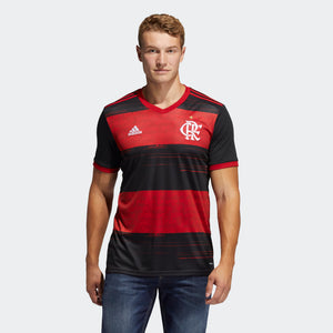 adidas CR Flamengo Home Jersey ED9168 - RED/BLACK