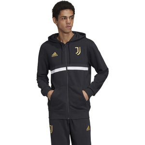 Adidas Juventus 3S Full ZIP HD Black FR4234