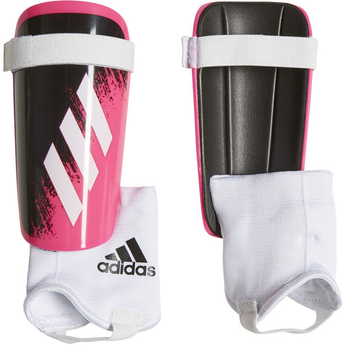 adidas Juniors' X 20 Match Shin Guards WHITE/SHOCK PINK/BLACK FS6596