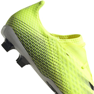 adidas X Ghosted.2 Firm Ground Cleats - FW6958 Solar Yellow/Black
