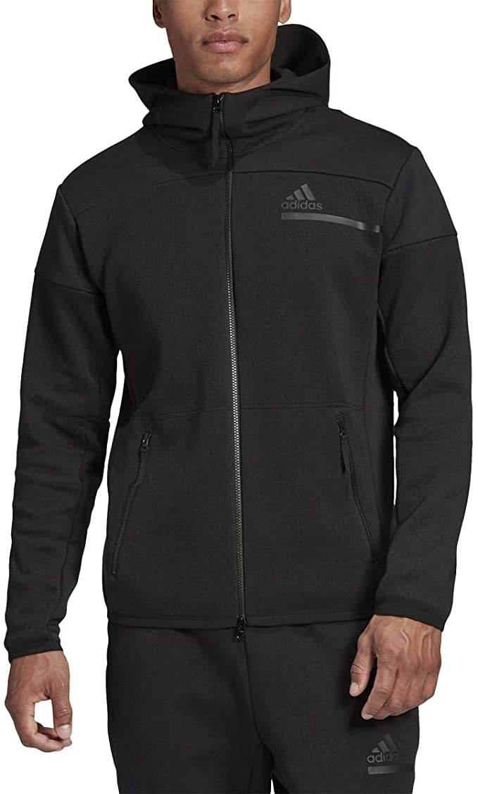 adidas ZNE Full Zip Jacket Black GM6531