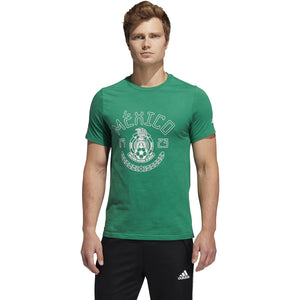 adidas Men's Mexico Amplifier Soccer Tee - SOCCR-MXS-SXA/KELLY GN1759