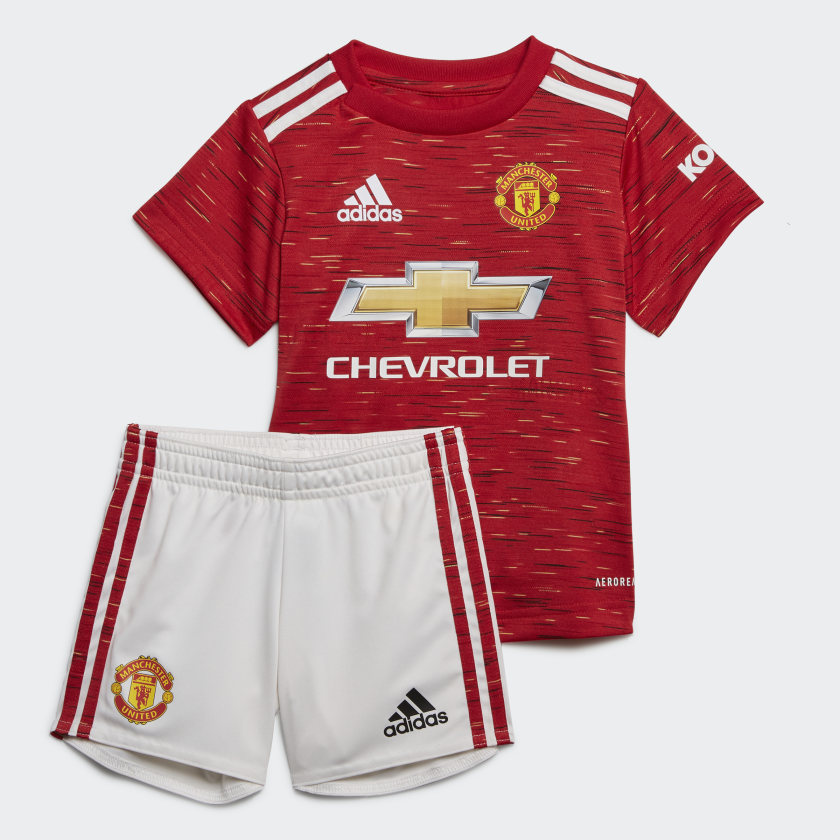 Adidas Manchester United Baby kit Red/ white FM4283