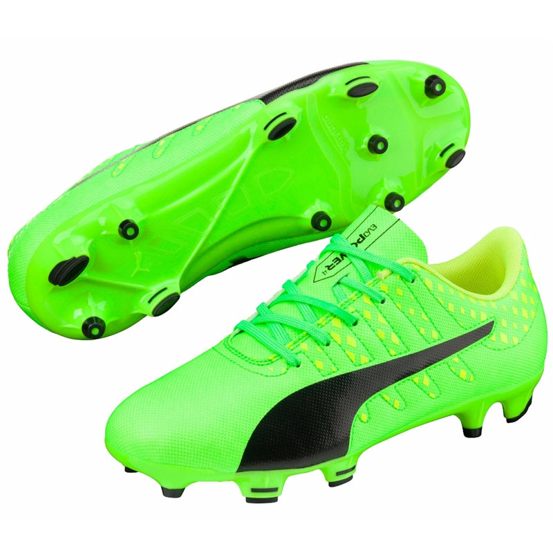 PUMA EVOPOWER VIGOR 4 FG YOUTH SOCCER CLEATS