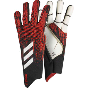 Adidas PREDATOR 20 Negative Cut Goalkeeper Gloves FH7288 BLACK/RED