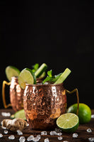 Moscow Mule and Ginger Cocktails.  You can be the best mixologist at home.