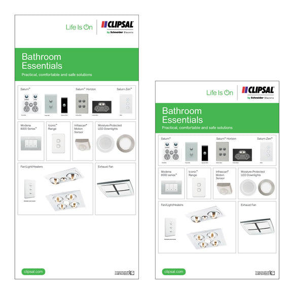 Bathroom Essentials Display Boards