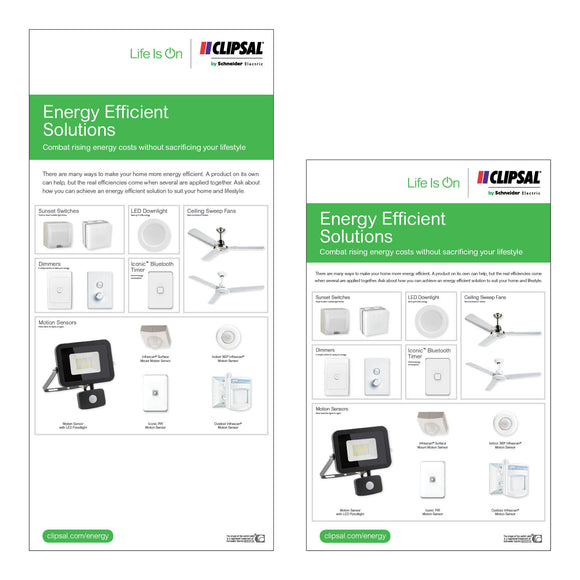 Energy Efficient Solutions Display Boards