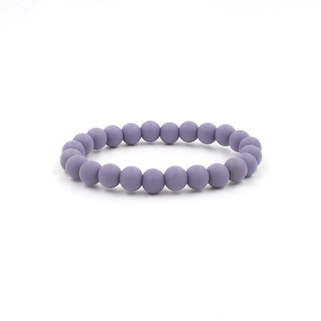 Wink Silicon rubber 9MM bead bracelets