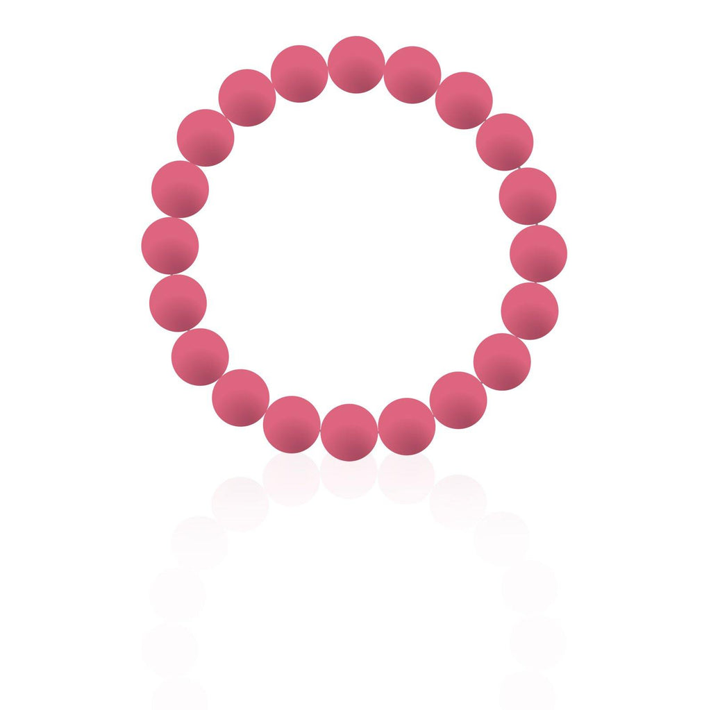 Watermelon Silicon rubber 9MM bead bracelets - The Gallant Way