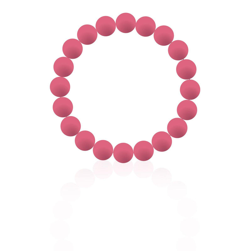 Watermelon Silicon rubber 9MM bead bracelets