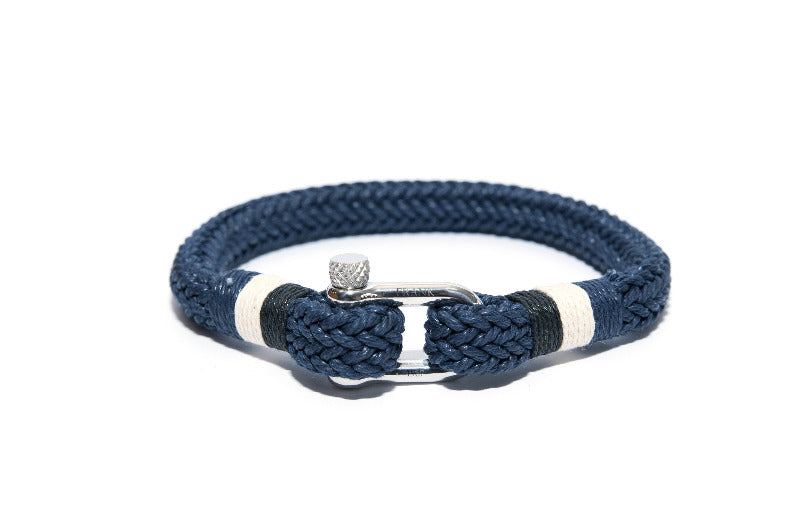 Mens Unique Nautical Blue Bracelet - The Gallant Way