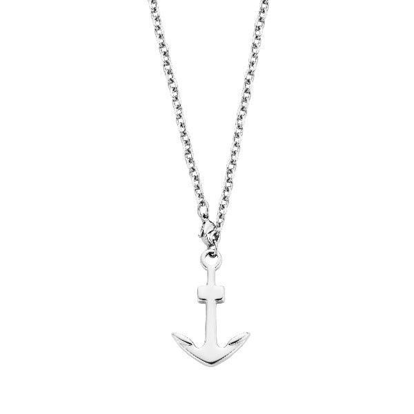 Men's Stainless Steel Necklace Nautical Anchor - The Gallant Way