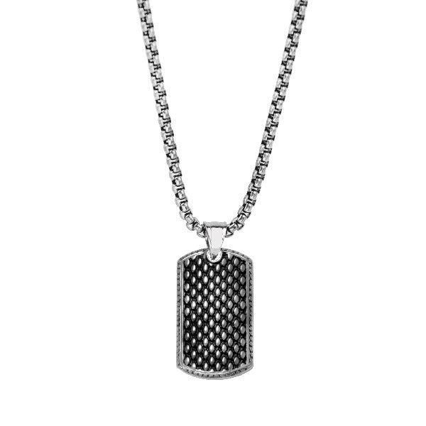 Men's Stainless Steel Necklace - The Gallant Way
