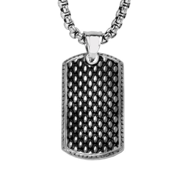 Men's Stainless Steel Necklace - 2 7FN-0007 - The Gallant Way