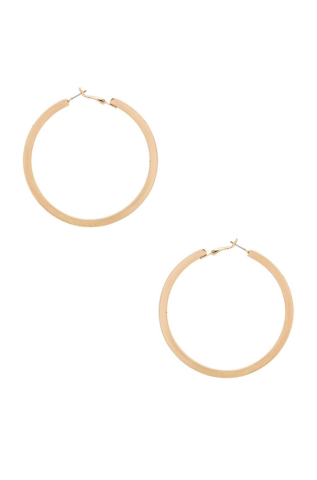 Calypso 18k Gold Plated Hoop Earrings
