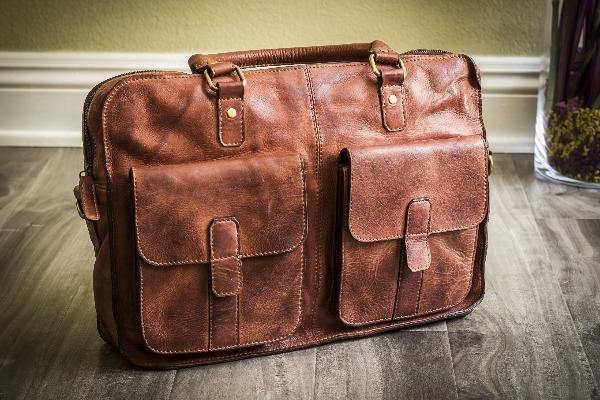Men's Leather Briefcase - Commuter 4
