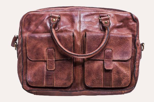 Men's Leather Briefcase - Commuter 1