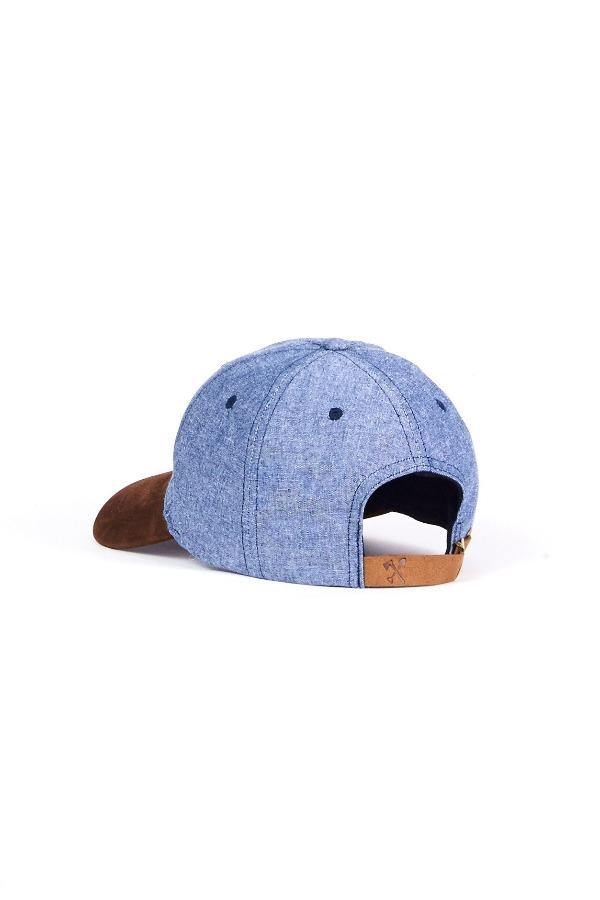 Light Blue Cap Hat  - Cool Grayson - The Gallant Way