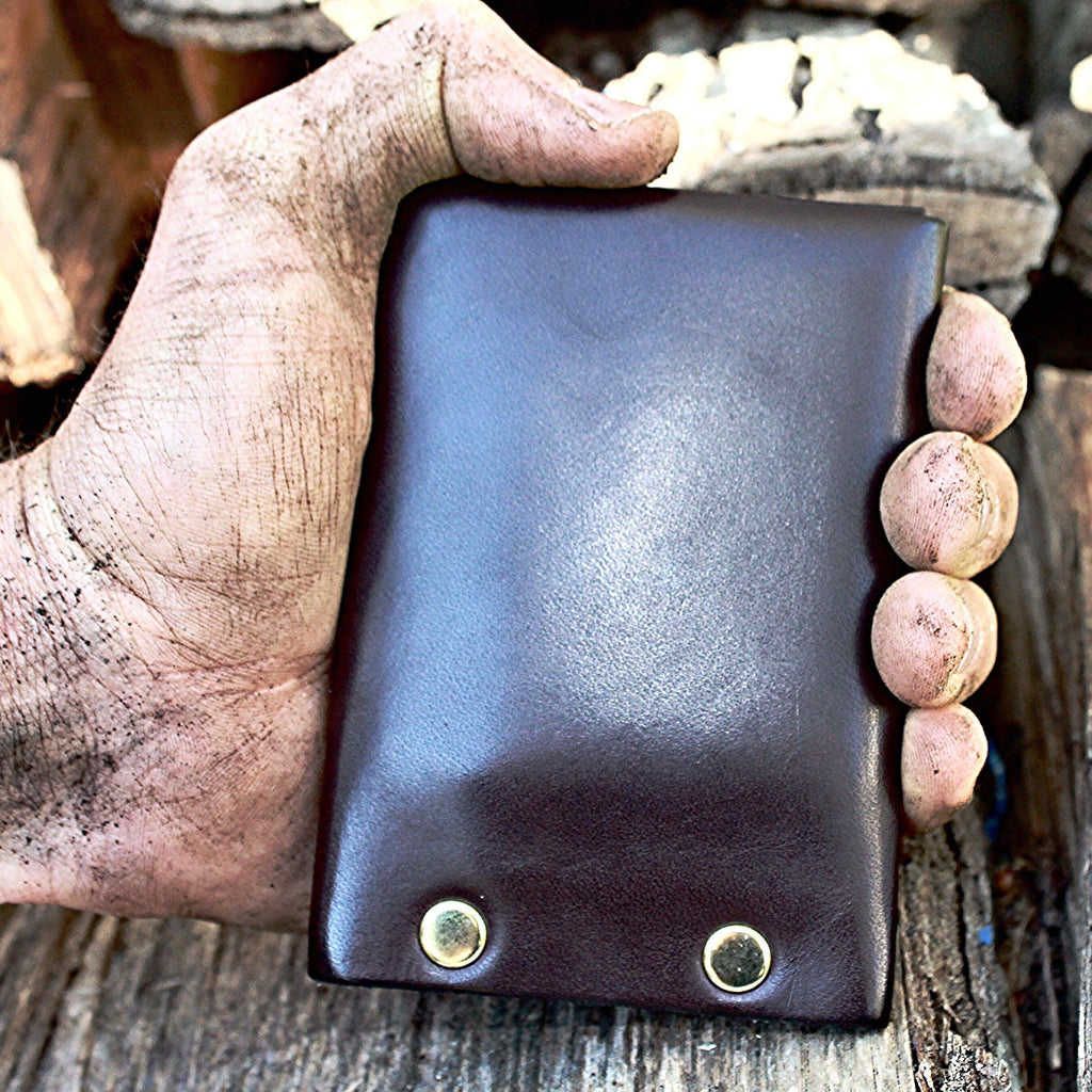 Hammer Riveted Wallet - The Gallant Way