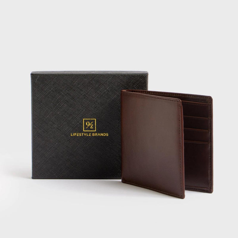 Men's Genuine Leather Bi-Fold Wallet - The Gallant Way