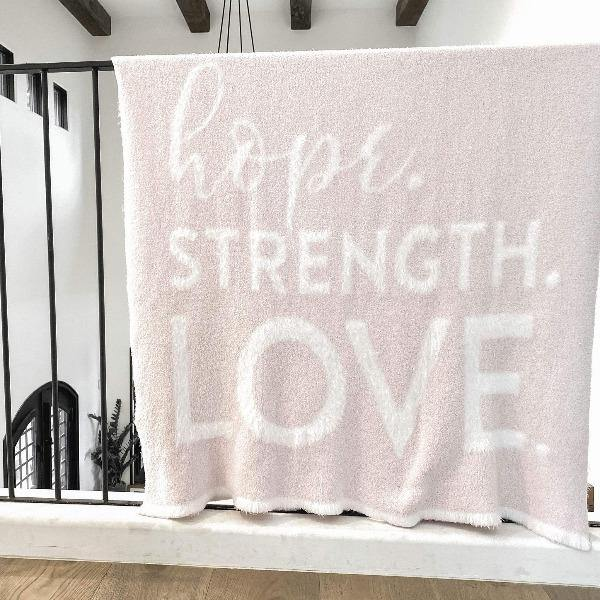 Pink Throw Blanket - DREAM 6