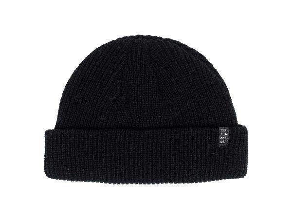 Men's Black Beanie
