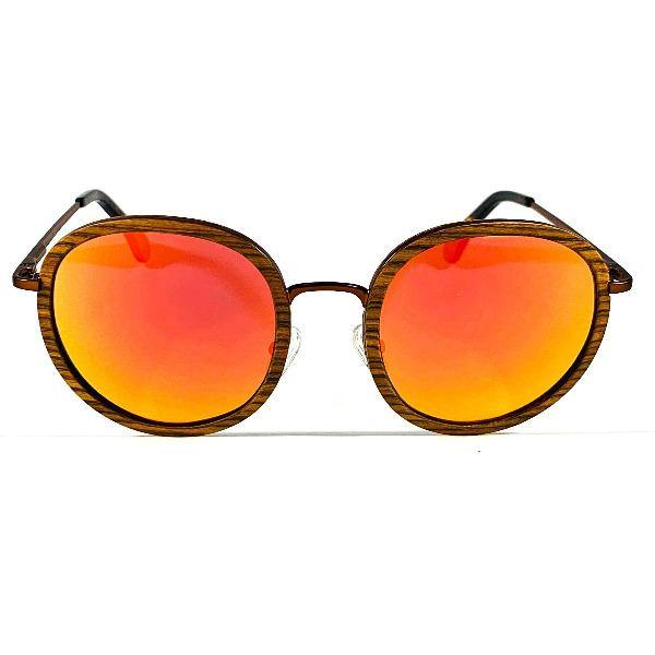 Men's Rounded Sunglasses - Castleberry 1