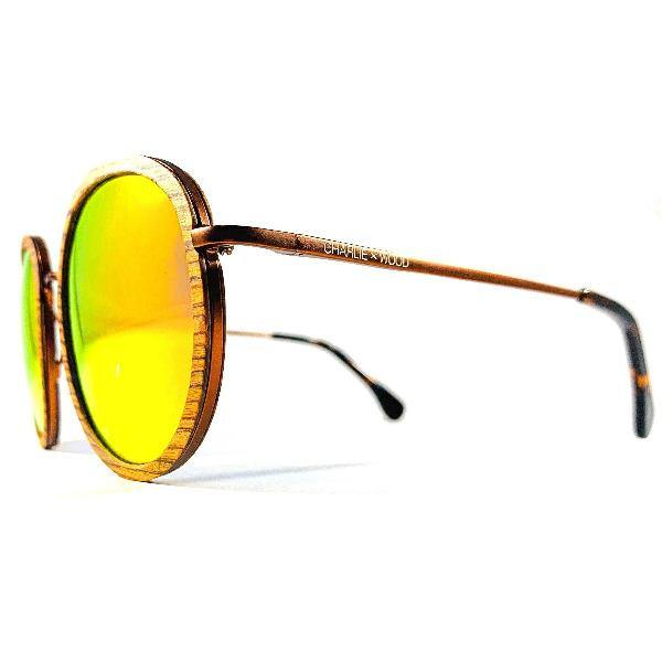 Men's Rounded Sunglasses - Castleberry 3