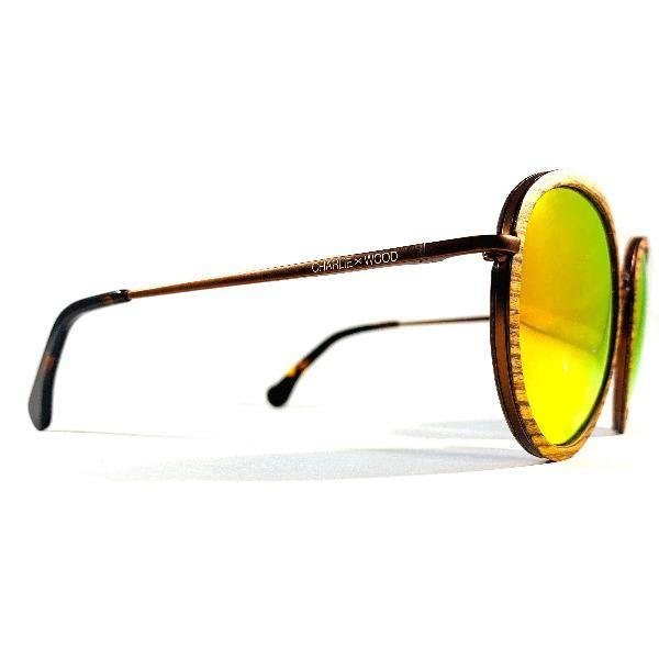 Men's Rounded Sunglasses - Castleberry 2