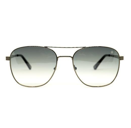 Men's Vintage Sunglasses Gunmetal  2