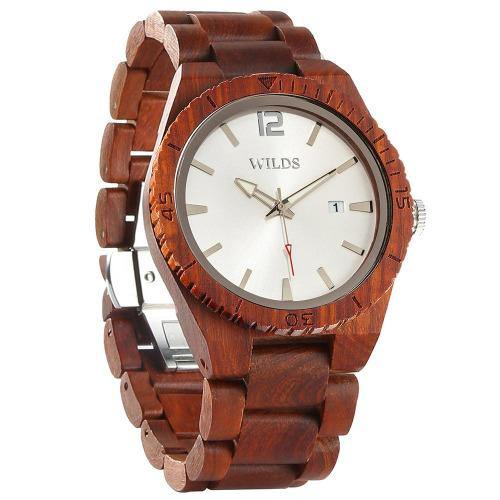 Women's Wooden Watch Natural Maple & Rosewood