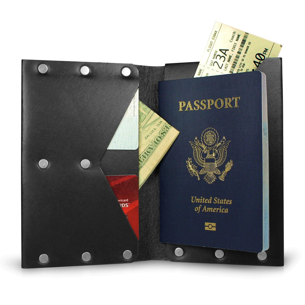 Hammer Riveted Travel Journal Wallet - The Gallant Way