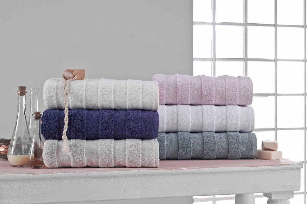Bath Towels Set  - Apogee Collection 6 Pcs - The Gallant Way