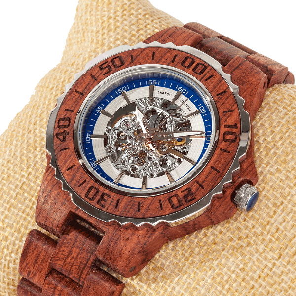 Men's Wooden Watch  Automatic Kosso  2