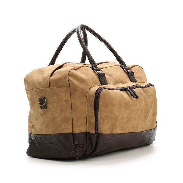 Men's Vegan Leather Duffel Bag - Marcel 2