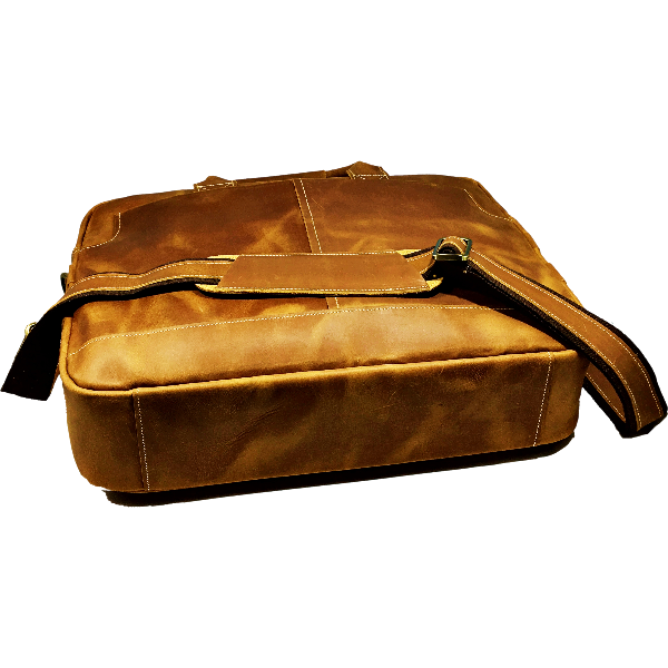 Men's Leather Briefcase - Lanier 4