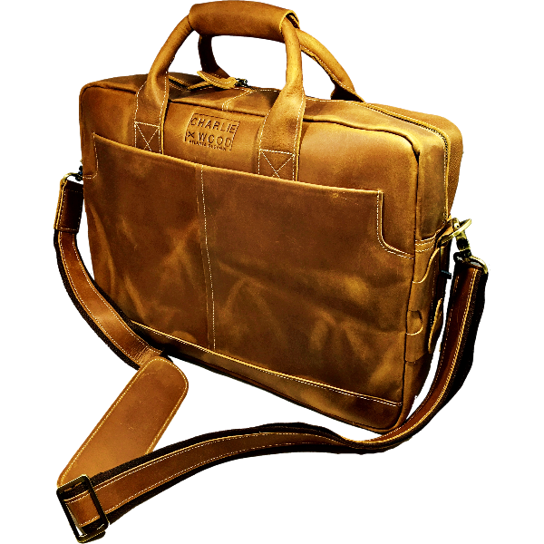 Men's Leather Briefcase - Lanier 7